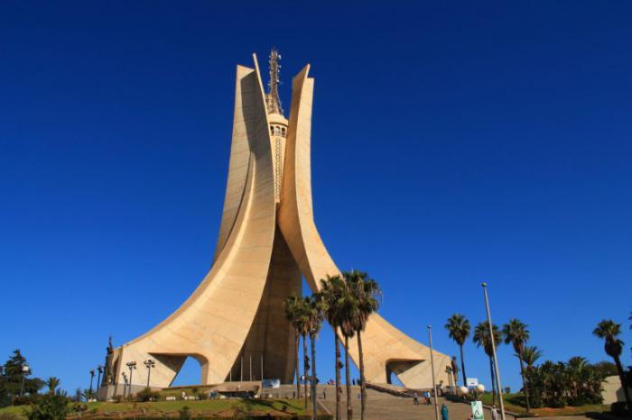 Denkmal für die Märtyrer des algerischen Unabhängigkeitskrieges