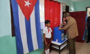 Raul Castro - Verfassungsreferendumg