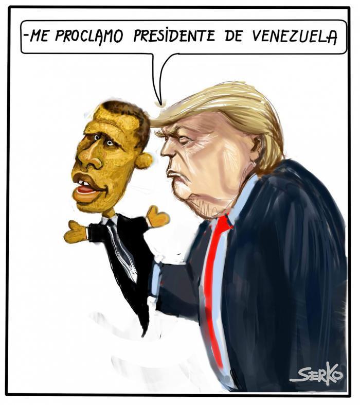 me proclamo presidente de Venezuela