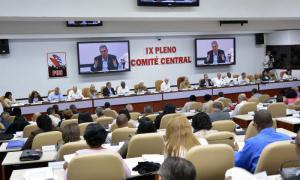 Plenum des Zentralkomitees der Kommunistischen Partei Kubas