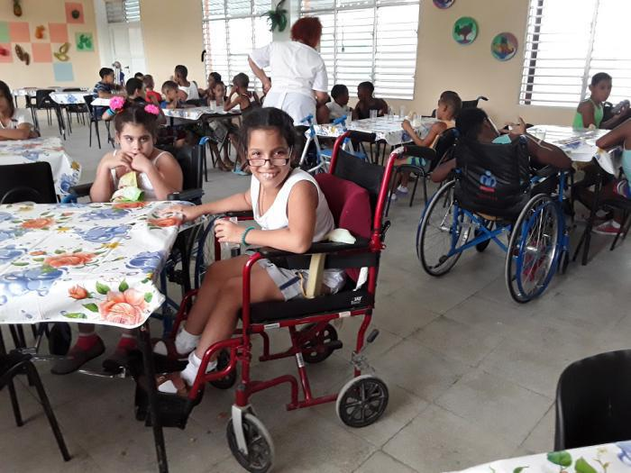 Kinder mit physisch-motorischen Beeinträchtigungen