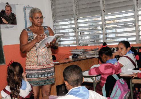 Arbeit der Lehrer und Professoren