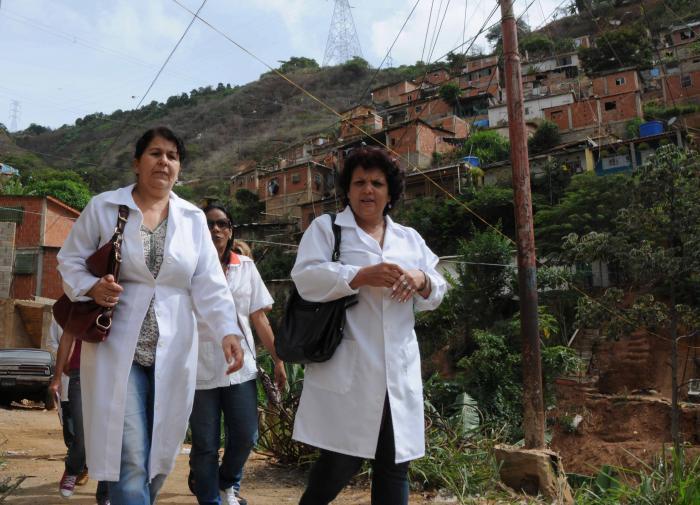 kubanische Mitarbeiter in Venezuela