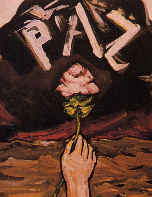 """Gemälde """"Frieden"""" von David Alfaro Siqueiros"""