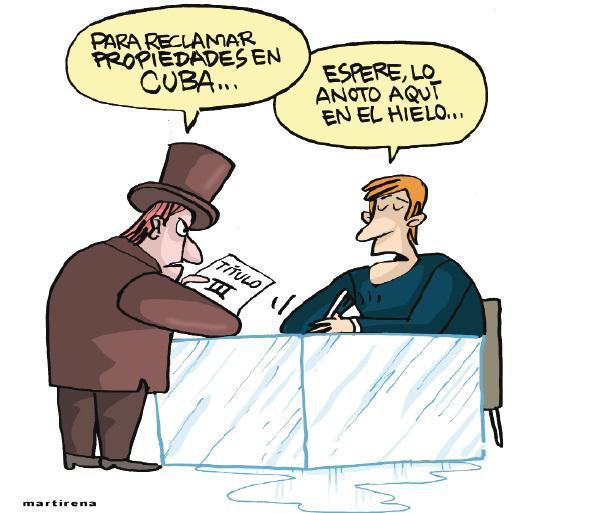 Karikatur Martirena