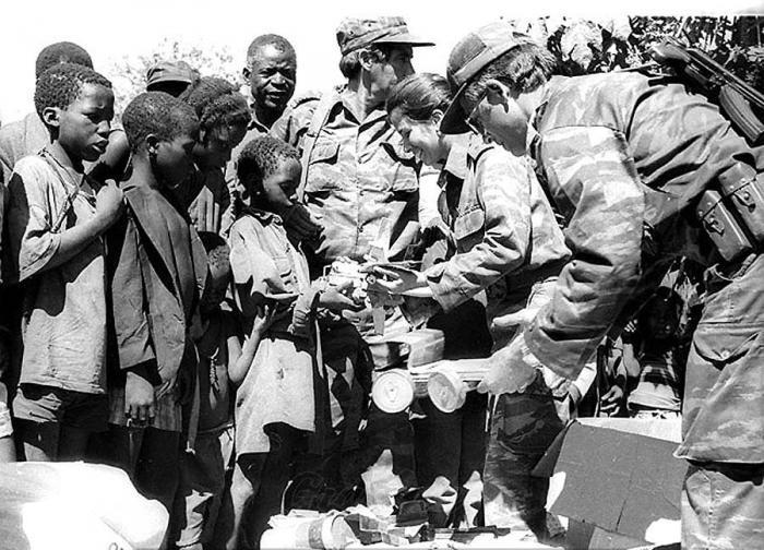 Kubaner in Afrika