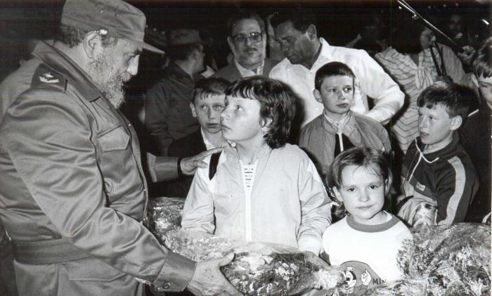 Opfer des Atomunfalls von Tschernobyl