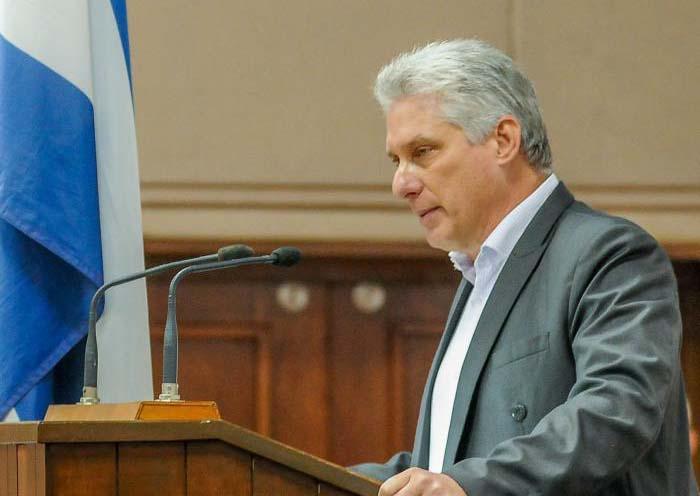 Miguel M. Díaz-Canel, Präsident des Staats- und des Ministerrats