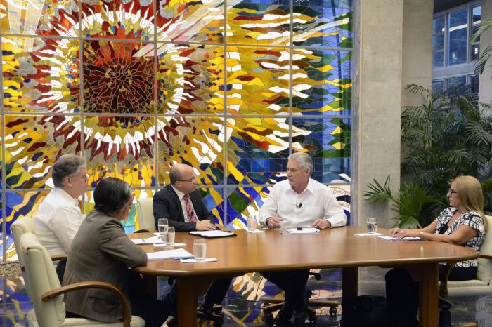 Der kubanische Präsident Miguel Díaz-Canel Bermúdez