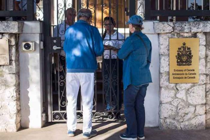 Kanadische Botschaft in Kuba