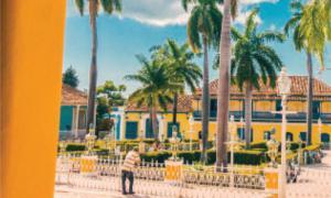 Touristen in Kuba