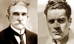 Carlos Baliño und Julio Antonio Mella