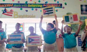 kubanische Lehrer auf den Bahamas