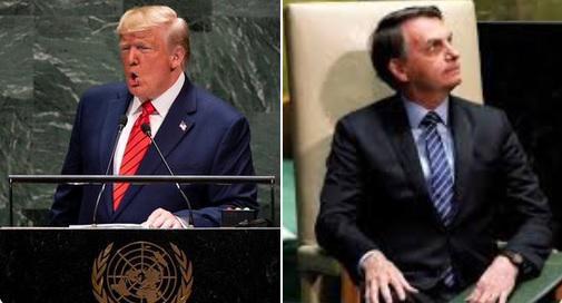 Trump und Bolsonaro