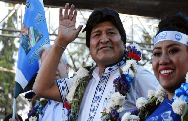 Gewinner: Evo Morales