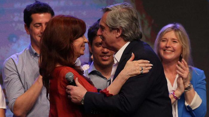 Alberto und Cristina Fernández