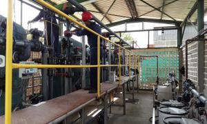 Fabrik für Bio-Produkte
