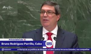 Außenministers Kubas, Bruno Rodríguez Parrilla