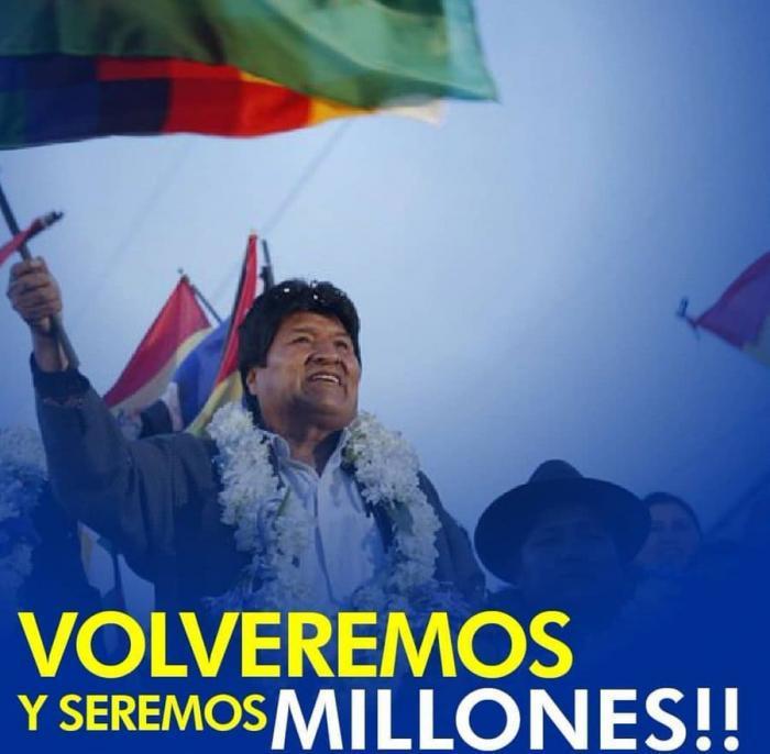 Evo Morales - Volveremos y seremos Milliones