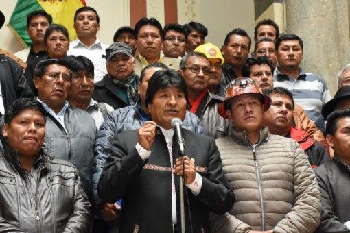 Evo Morales - Telesur