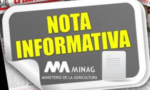 Mitteilung des Landwirtschaftsministeriums