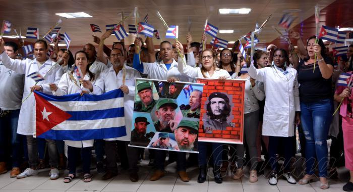 kubanische medizinische Fachkräfte in Bolivien