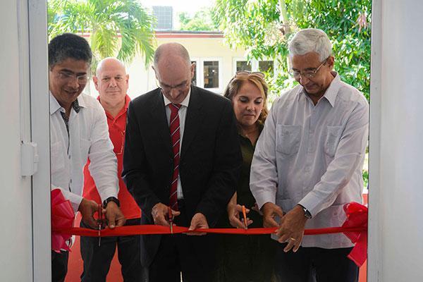 Fotovoltaikpark zur Ausbildung der Studenten