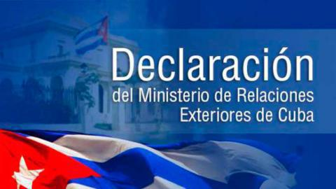 Außenministerium Kuba