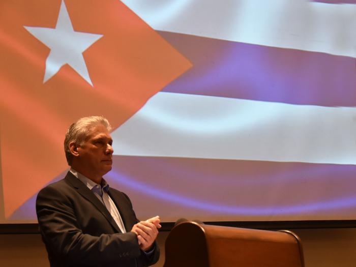 Präsident Díaz-Canel