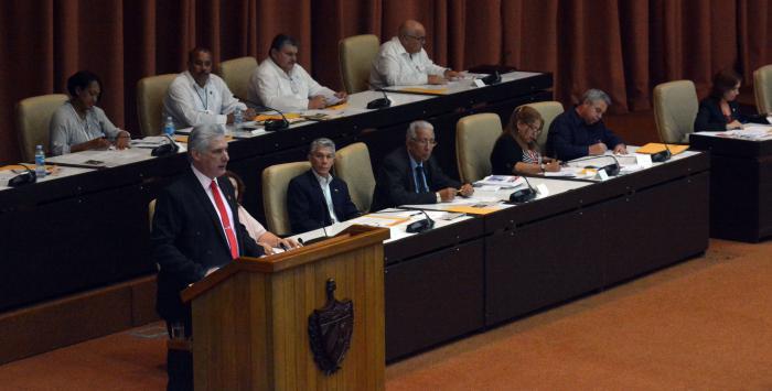 kubanischer Präsident Díaz-Canel