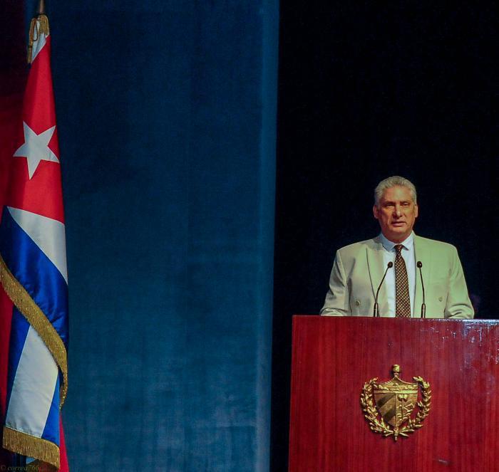 Präsident der Republik Kuba Díaz-Canel