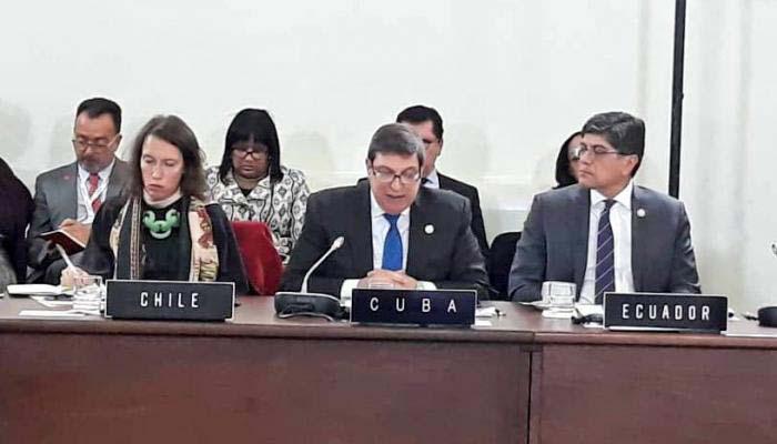 Celac-Gipfel 2020 - kubanischer Außenminister