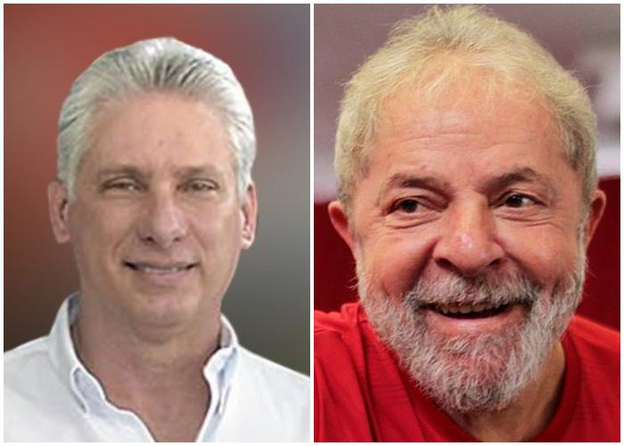 Díaz-Canel und Lula da Silva