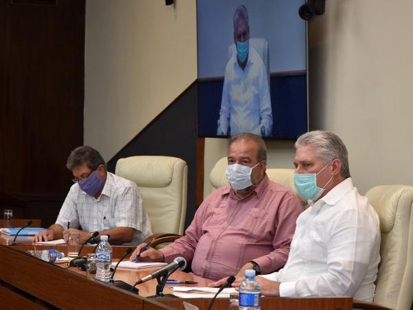 Treffen zur Situation mit dem neuen Coronavirus