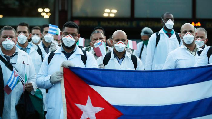 kubanischen Ärzte in Italien