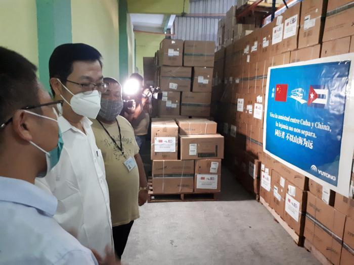 Spende aus China für Kuba