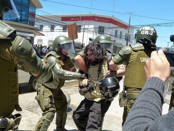 Journalisten werden festgenommen