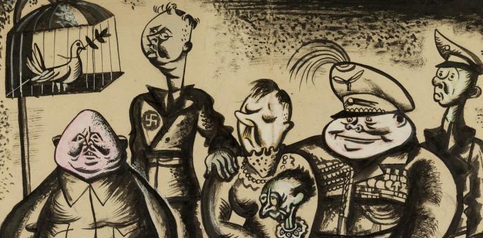 Nazifamilie, Werk von Manuel Kantor,