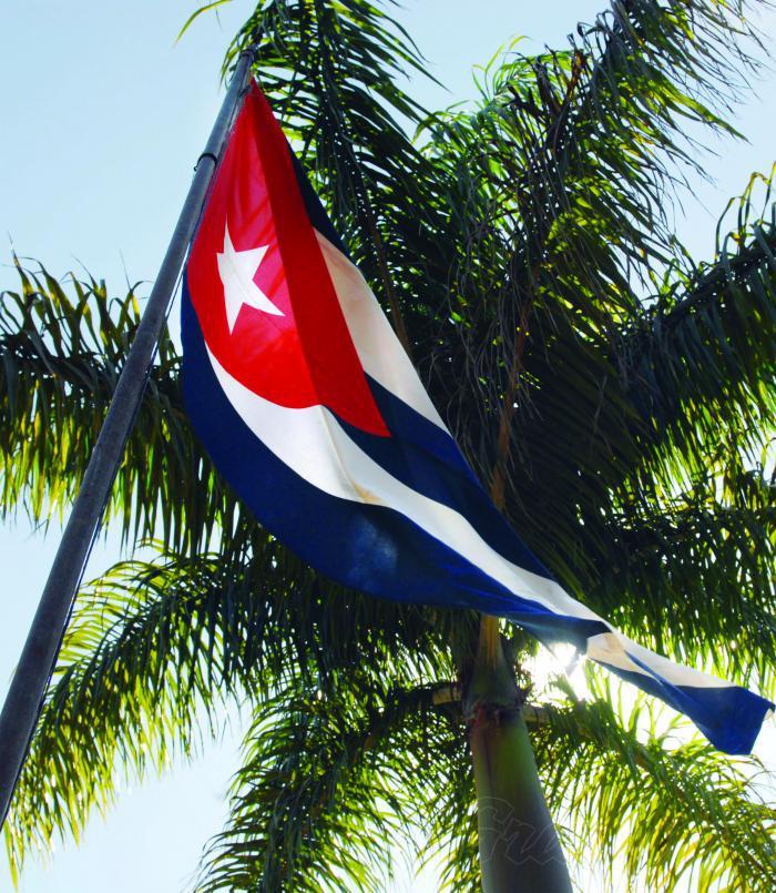 kubanische Fahne