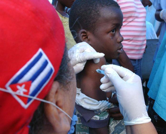 Kubanische Ärzte: Taten, nicht Worte