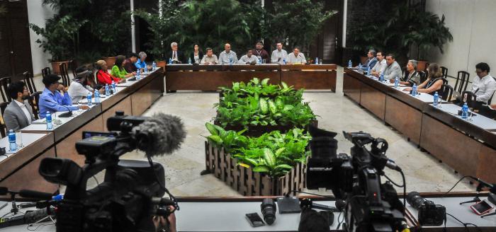 Unterstützung für den Frieden in Kolumbien