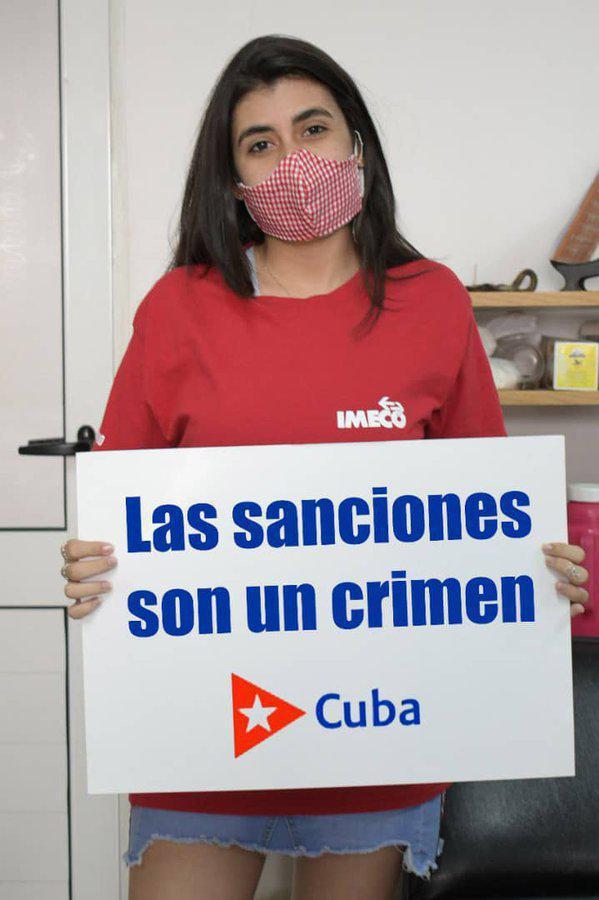 Las sanciones son un crimen