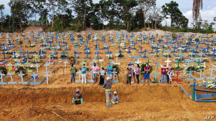 Brasilien, Epizentrum der Pandemie