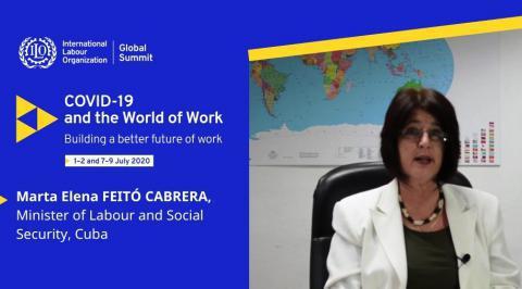 Ministerin für Arbeit und soziale Sicherheit Kubas