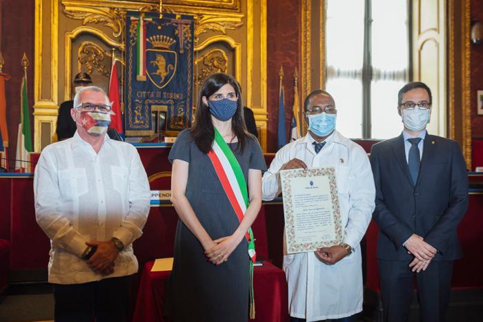 Ehrenbürgerschaft der Stadt Turin