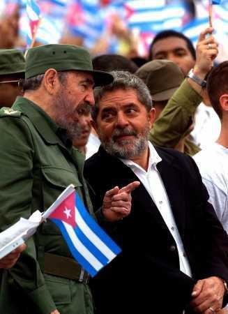 Fidel und Lula