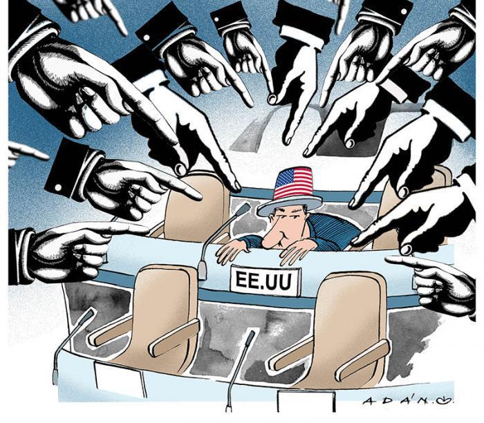 gegen die Blockade