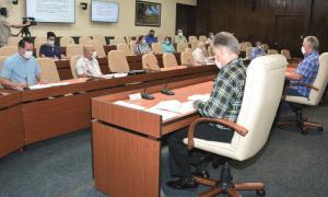 Videokonferenz zu Covid-19