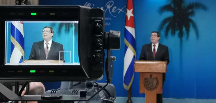 Außenminister Kubas