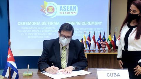 Kuba tritt  ASEAN bei